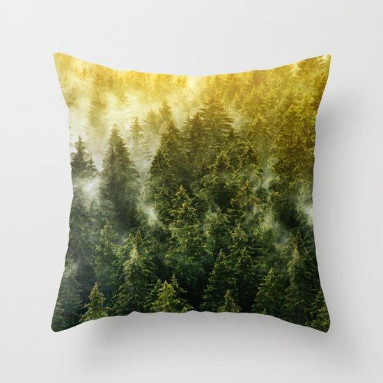 Don't Wake Me Up Throw Pillow