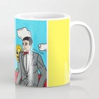 pee wee Mugs featuring Pee Wee's Playhouse by Jaime Knight Art