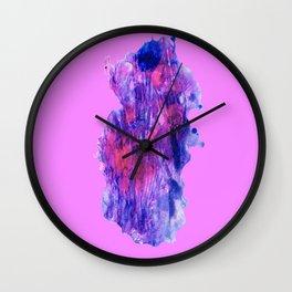 PNK ON PNK Wall Clock