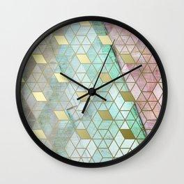 PolyGone Wall Clock
