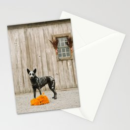 Day of the Dead Dog by The Labs & Co. Stationery Cards