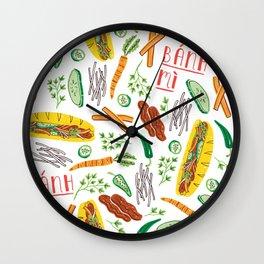 Banh Mi Wall Clock