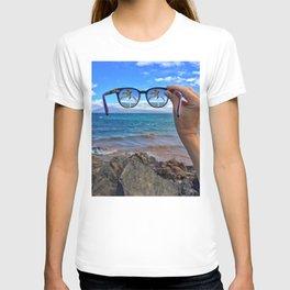 Hawaii Sunglasses Palmtrees T-shirt