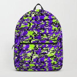TCR-CAMO PRINT back pack -green grape mix Backpack