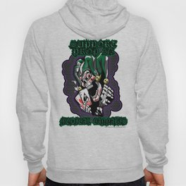 100% Smokin' Cannabis - Support Prop 215 - Smokin' Joker No Leaves Hoody
