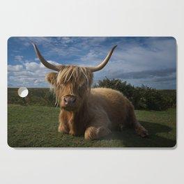 Rugged Highland Cow Cutting Board
