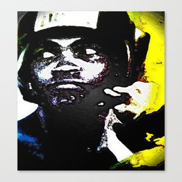 Muhammad Ali By CD Kirven Canvas Print
