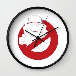 Official Gaten Matarazzo Ghostbuster Wall Clock