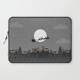 villlage christmas on the night Laptop Sleeve