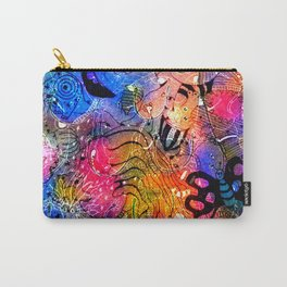 Butterfly smiles Carry-All Pouch