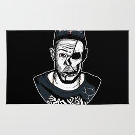 Golf Wang - Tyler The Creator Skull Ink Print Rug