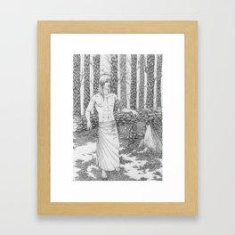 The Dead Forest Framed Art Print