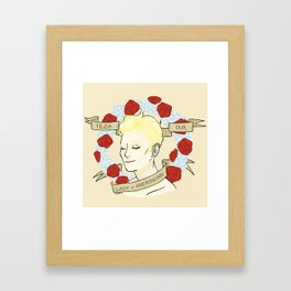 Our Lady of Androgyny Framed Art Print