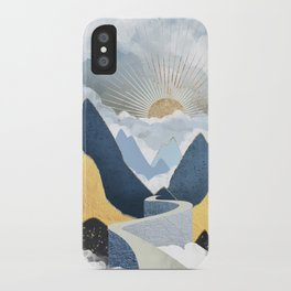 Bright Future II iPhone Case