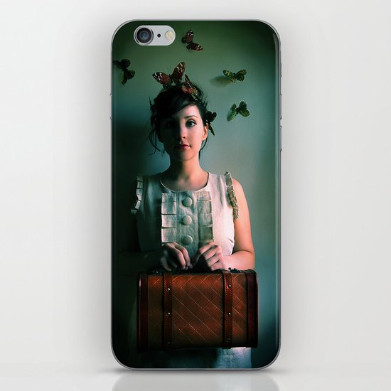 The Escape Artist iPhone & iPod Skin