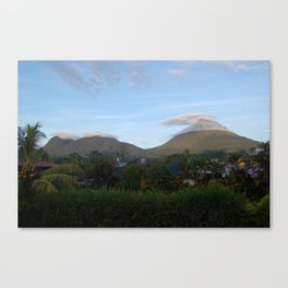 Clouds Surrounding Arenal Volcano, Costa Rica Canvas Print