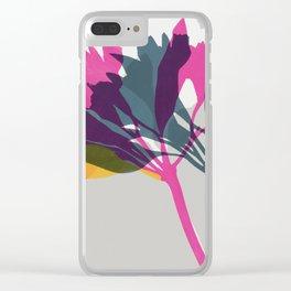 alstroemeria 10 Clear iPhone Case