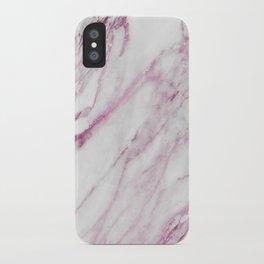 Marble Pink - Hug Me iPhone Case