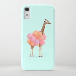 GIRAFFE PARTY iPhone Case