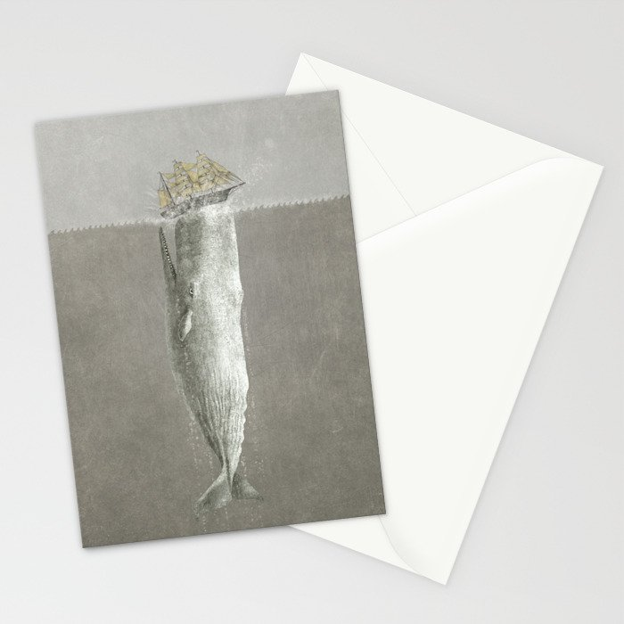 Revenge of The Whale Stationery Cards