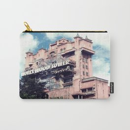 Haunted Hotel Architecture Closeup Carry-All Pouch