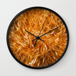 Abstract Explosionism Wall Clock