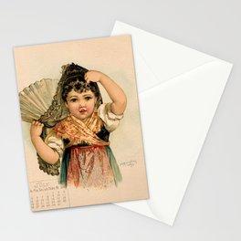 Spanish Girl Maud Humphrey Stationery Cards