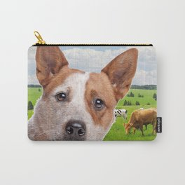 Australian Cattle Dog Red Carry-All Pouch