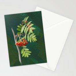 Rowan tree Stationery Cards