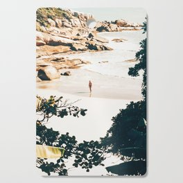 Solo Traveler || #illustration #travel Cutting Board