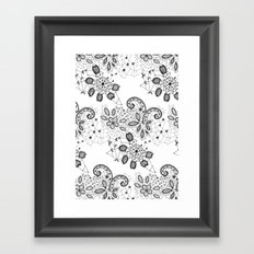 Lace 3 Framed Art Print
