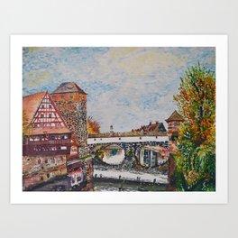 Nuremberg, Germany Art Print