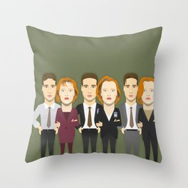 Watching The Detectives #4: Landscape Throw Pillow