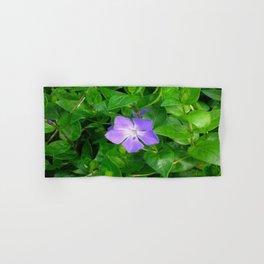 Violet Herbaceous Periwinkle Hand & Bath Towel