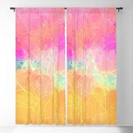 Modern Pastel Rainbow Cascade  Blackout Curtain