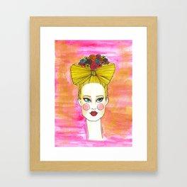 Talia Framed Art Print