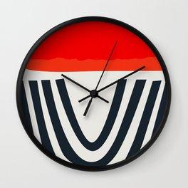 Red Lipstick Wall Clock