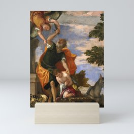 "Veronese (Paolo Caliari) ""Sacrifice of Isaac"" Mini Art Print"