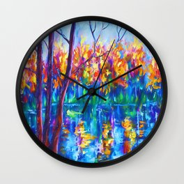 The River Song Wall Clock