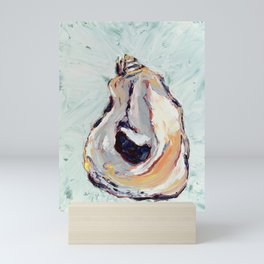 Oyster shell Mini Art Print