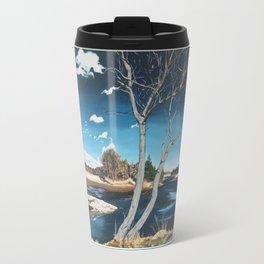Christie Lake - Acrylic on Canvas 2017- Michael G. Wilson Travel Mug