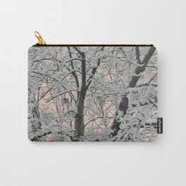 Big Tree In Snow Carry-All Pouch