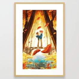 The Crossing - At Dusk Framed Art Print