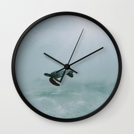 Sea Turtle II / Kailua-Kona, Hawaii Wall Clock