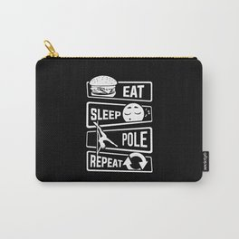 Eat Sleep Pole Dance Repeat - Poledance Dancing Carry-All Pouch