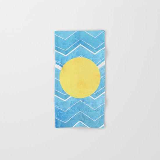 Summer Sea's Hand & Bath Towel