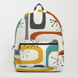 Mid Century Modern Shapes 02 #society6 #buyart Backpack