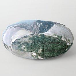 Mount Thielsen, Oregon Floor Pillow