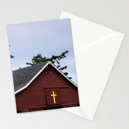 Cross and Barn Stationery Cards