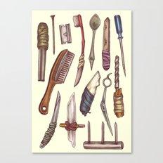 Shanks & Shivs Canvas Print